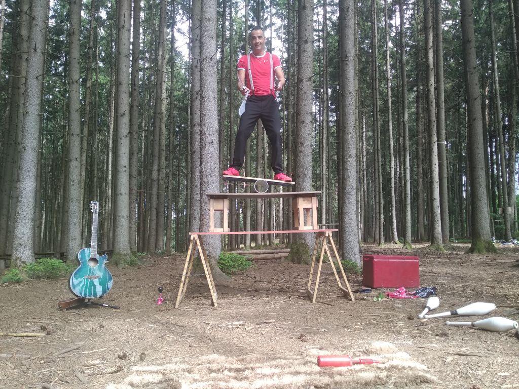 Zauberei im Sommerwald